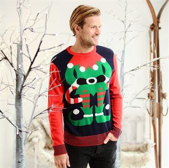lelijke foute kersttrui 3d